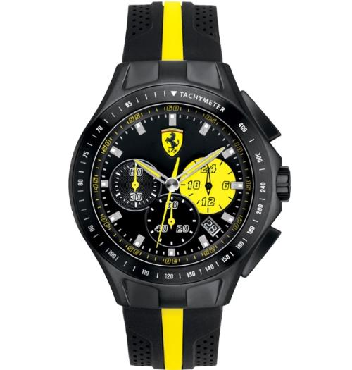Name:  Scuderia Ferrari Gents Textures of Racing Chronograph Watch 0830025.jpg