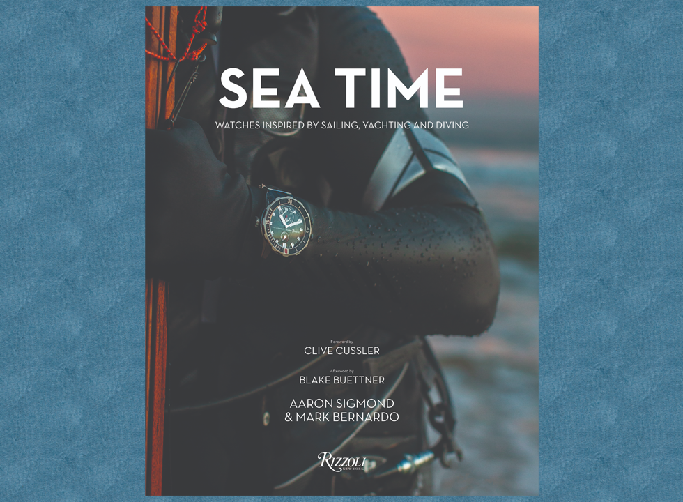 Sea time book cover