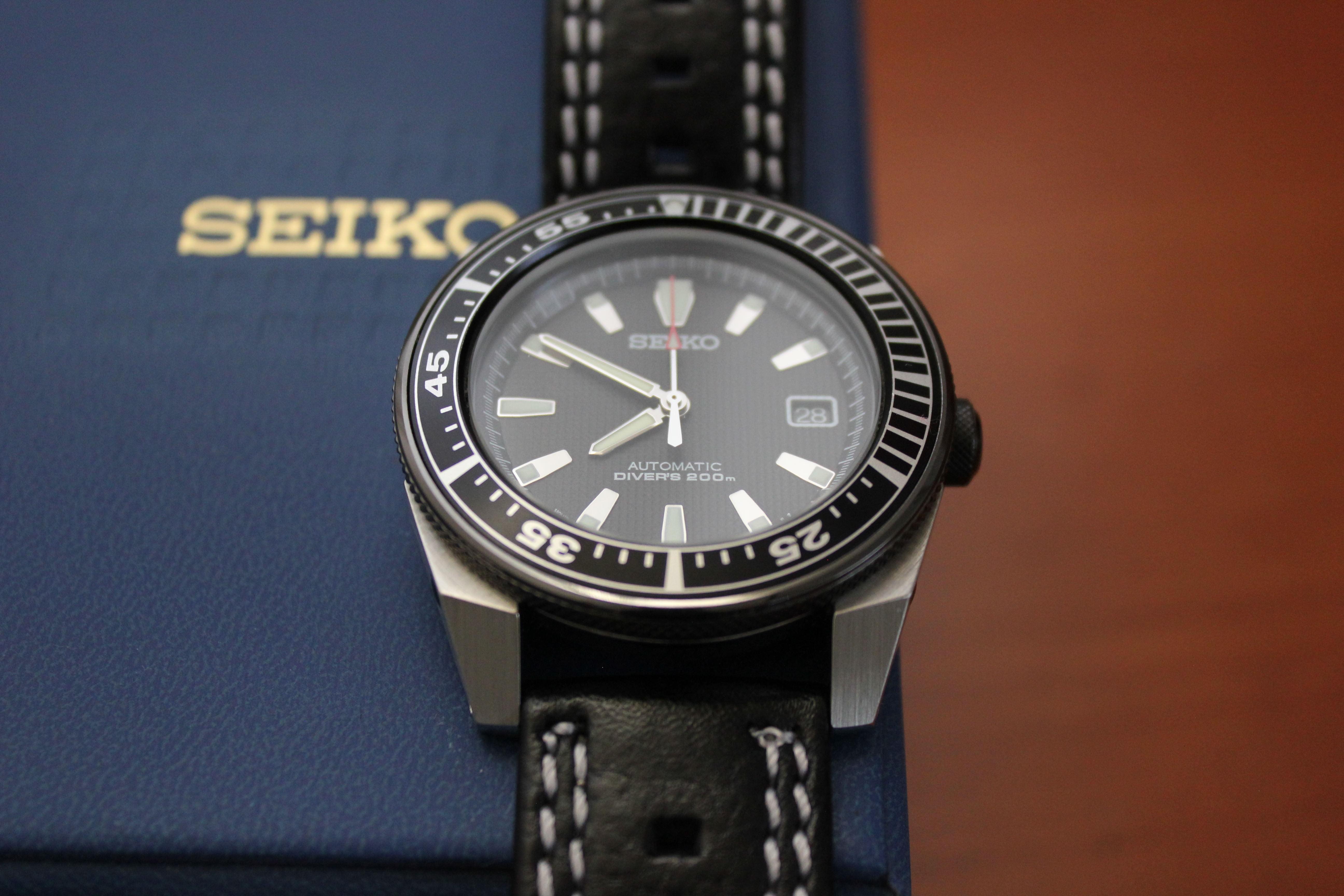 Name:  Seiko Samurai black double white aviator panatime strap 2.jpg Views: 24 Size:  1.32 MB