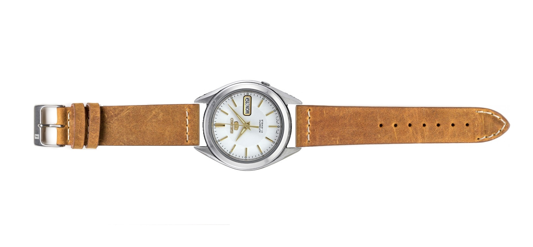 Name:  Seiko Snkl17_brown.jpg