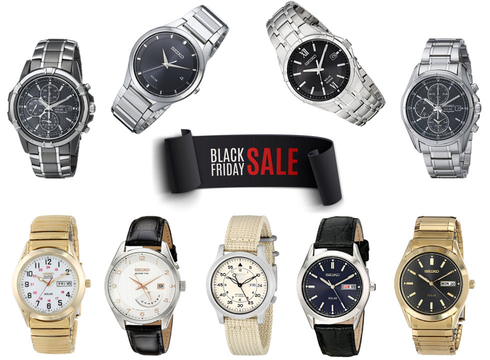 The Best Seiko Black Friday Deals on Amazon: Save Up to 70%