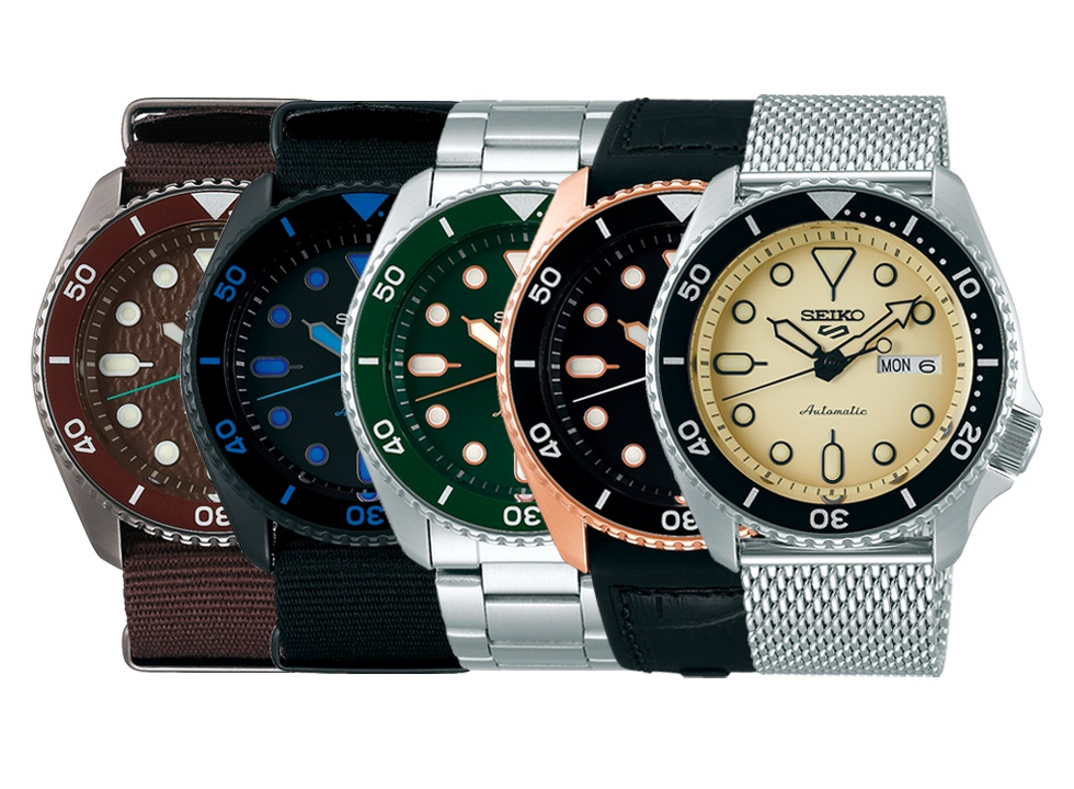 Seiko 5 Sports Collection 2019