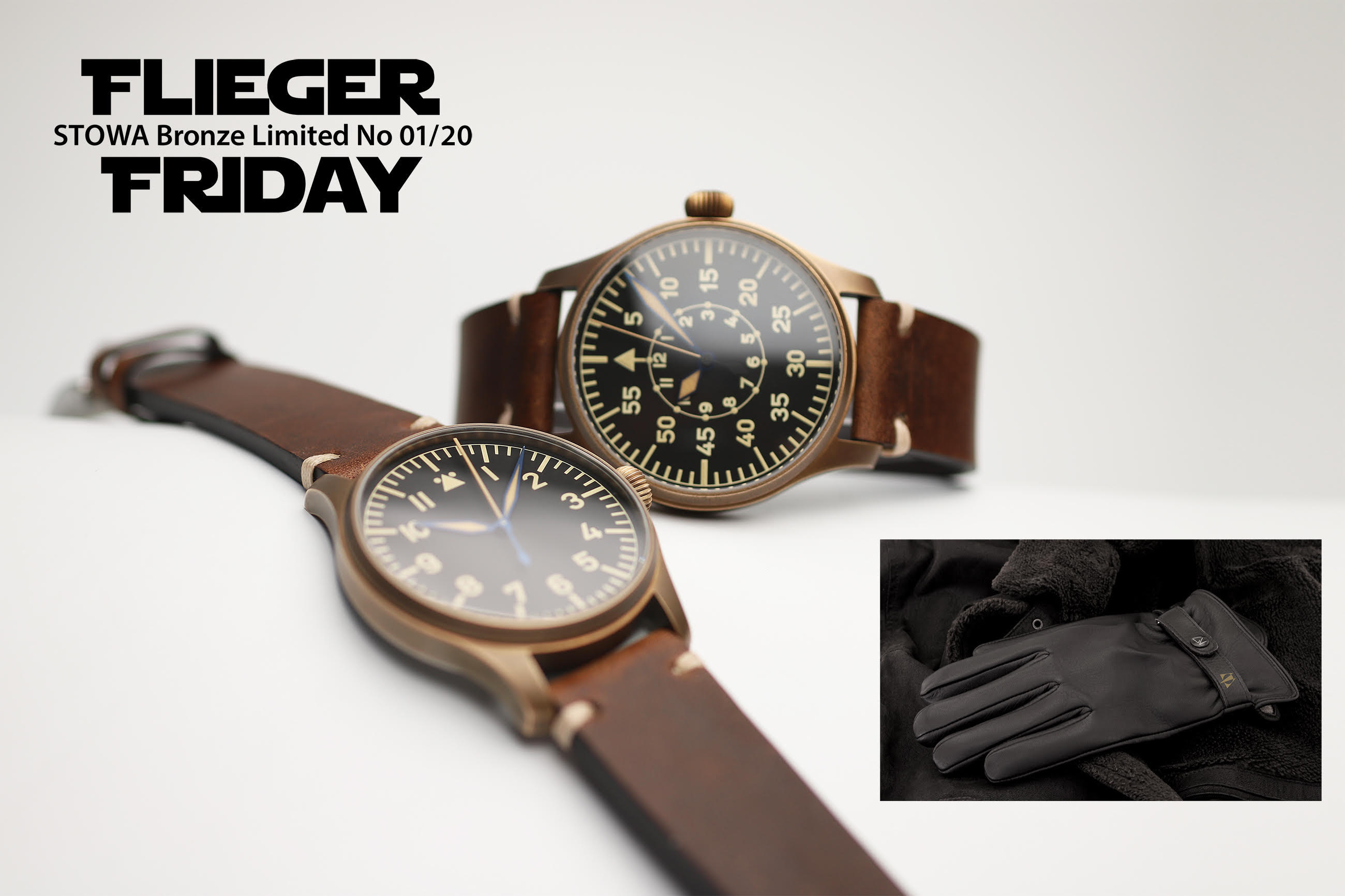 Stowa Flieger Friday Bronze Package