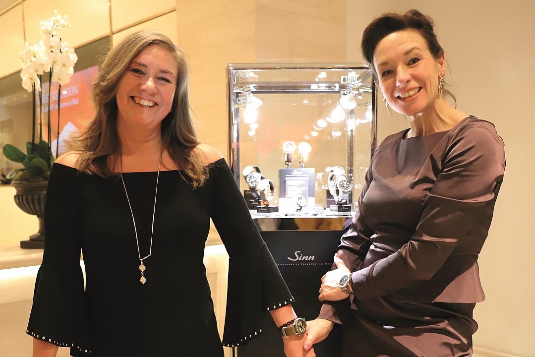 Fliegers & Fashion: Sinn Collaborates With Fashion Designer Anja Gockel