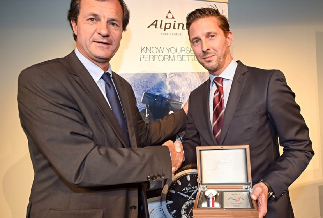 Alpina becomes Official Watch of the French Ski Federation (FFS)