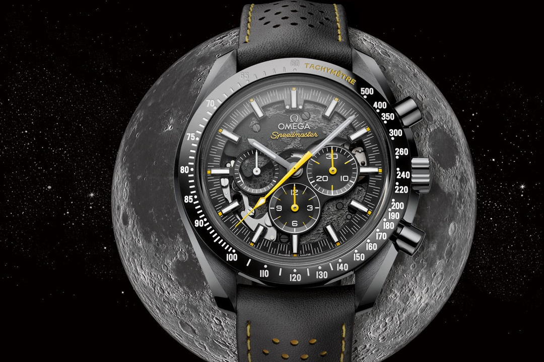 Omega Speedmaster Dark Side Of The Moon Apollo 8 Limited