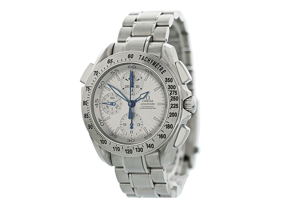 Speedmaster Rattrapante silver dial