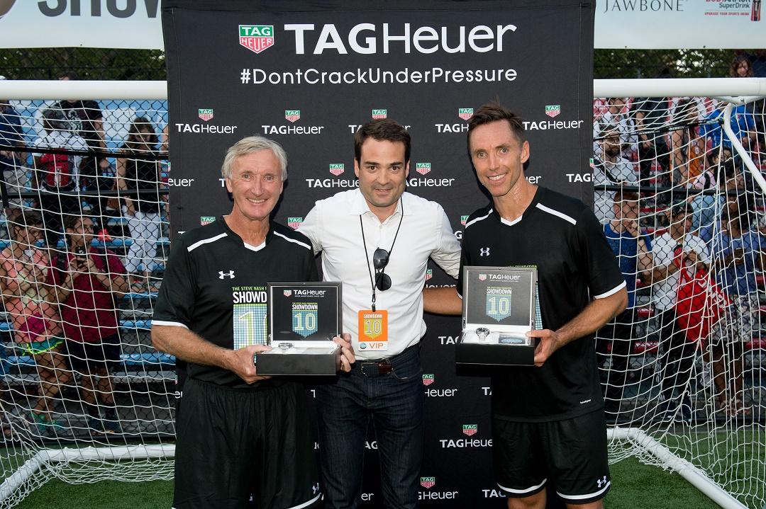 Steve and John Nash with K. Muller