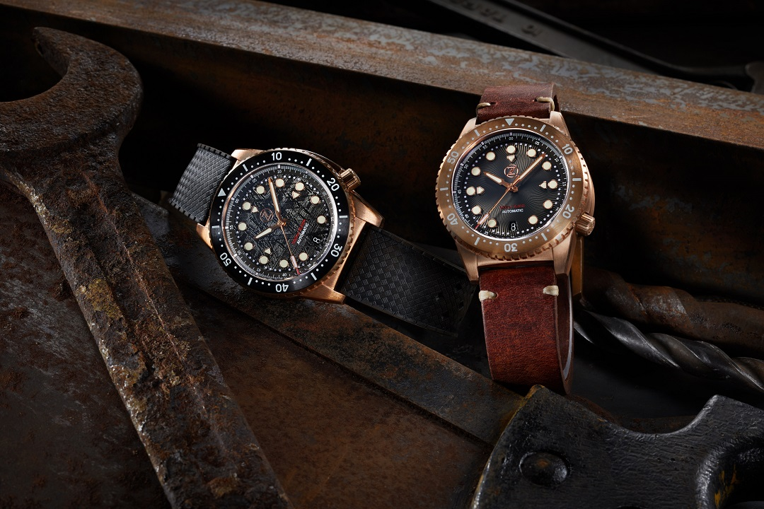 Zelos Follows-Up Fast With New Mako Bronze Diver
