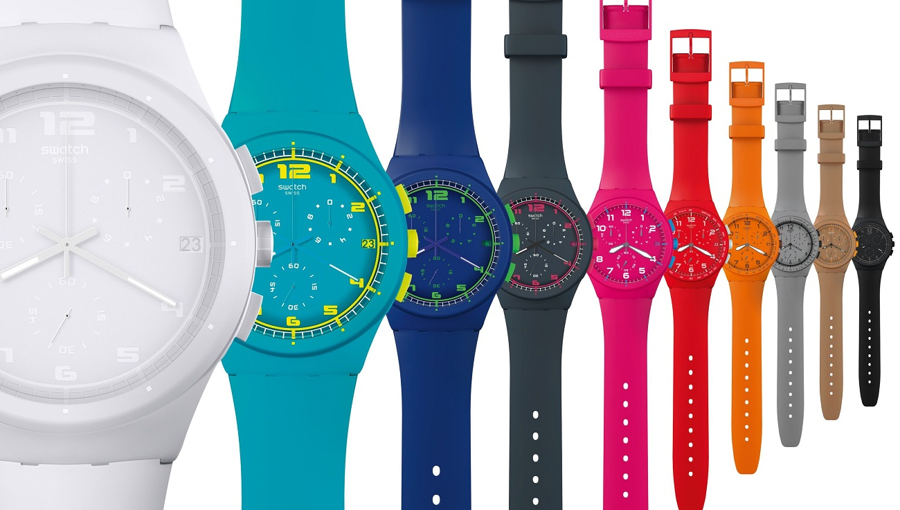 Double Digit Growth for Swatch in China