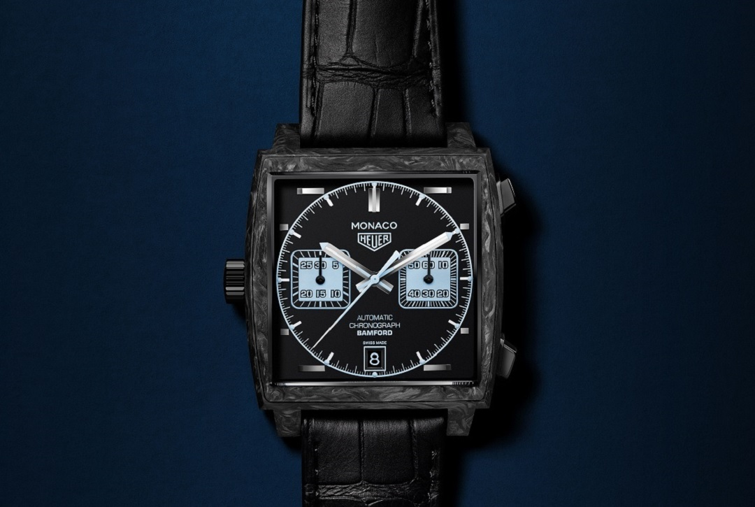 fd3a4fddd24e4 Baselworld 2018  TAG Heuer Teams With BWD For Bold New Monaco ...