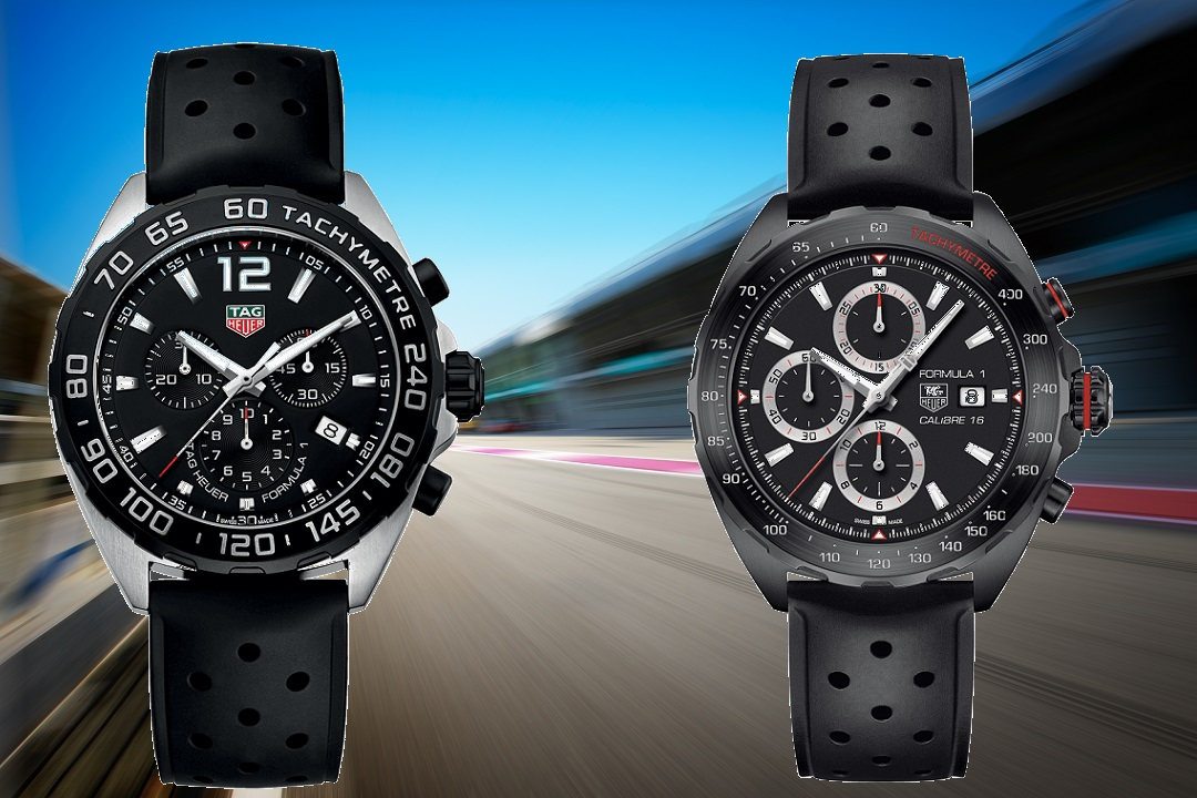 The Tag Heuer Formula 1 collection was designed for the fast lane on or off the racetrack. The technology behind the watches was inspired by the extreme performance of Formula 1 teams and the watches are actually worn by champion drivers around the world.