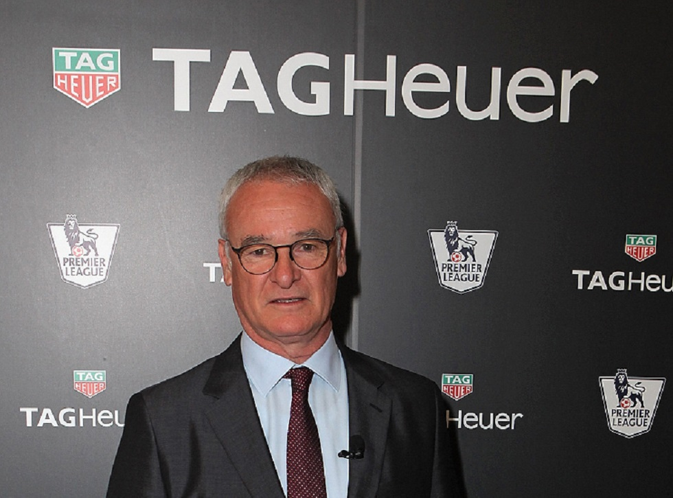 Leicester City manager Claudio Rainieri appointed TAG Heuer Brand Ambassador
