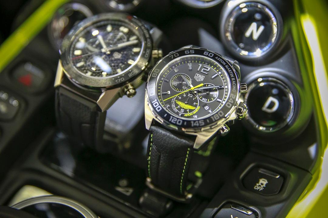 96897c25db9b5 TAG Heuer Aston Martin Special Edition Chronographs - watchuseek.com