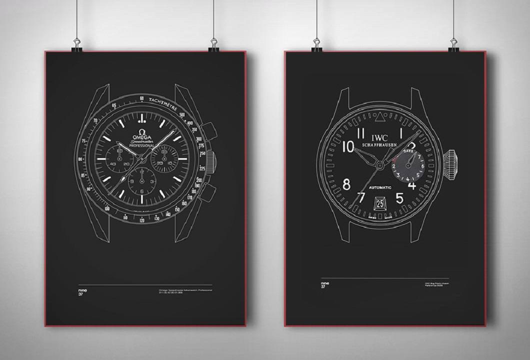 Nine37 Timepiece Prints