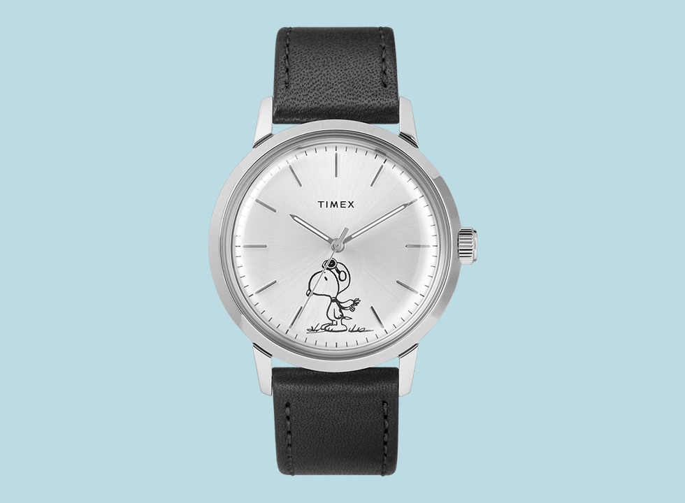 timex snoopy automatic merlin watch