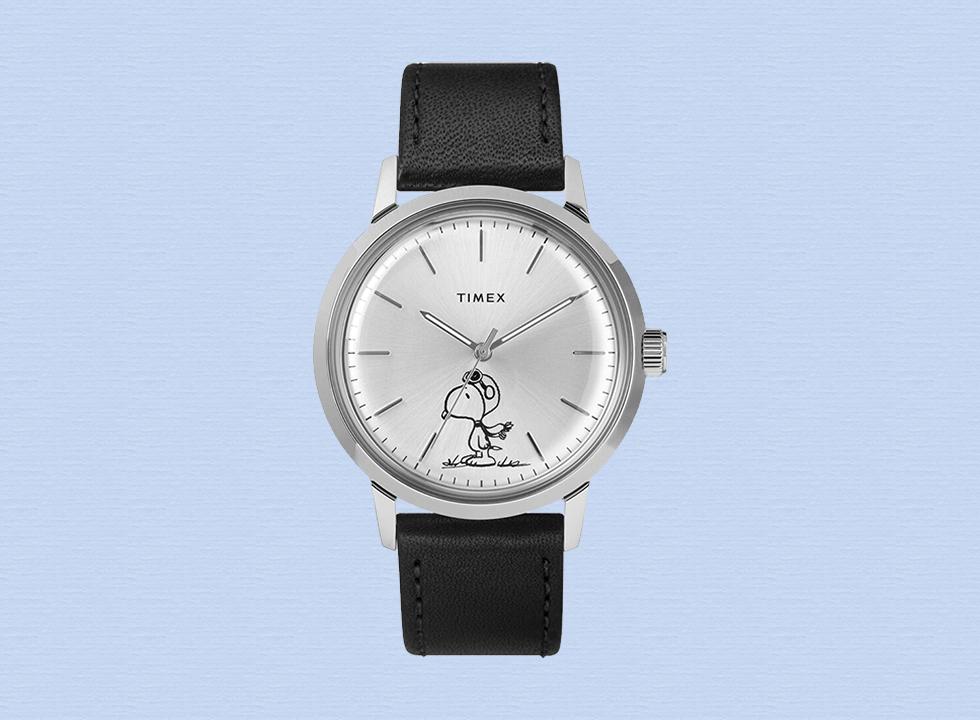 timex snoopy marlin watch
