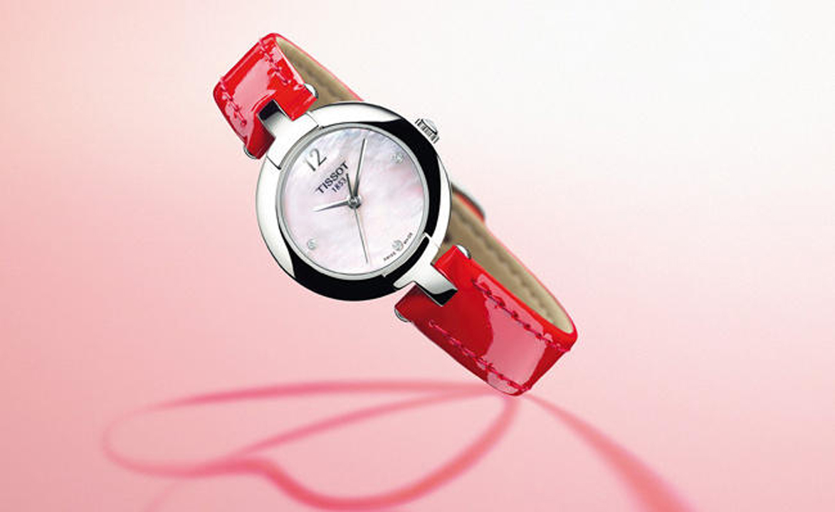 Forget at your peril: Pinky, a Valentine's watch by Tissot
