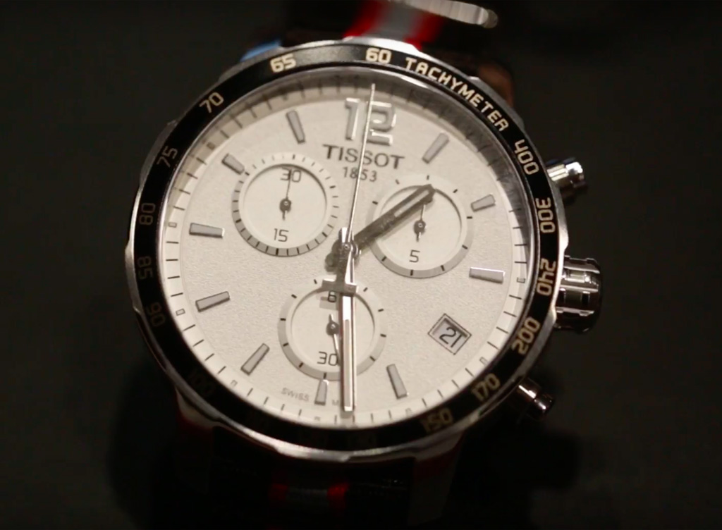 VIDEO: New Tissot Watch Collection from Baselworld 2016