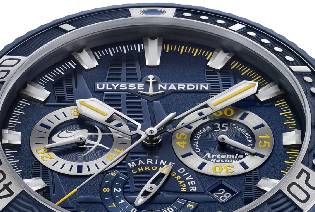 Pre-SIHH 2017: Ulysse Nardin LE Diver Chronograph Artemis Racing