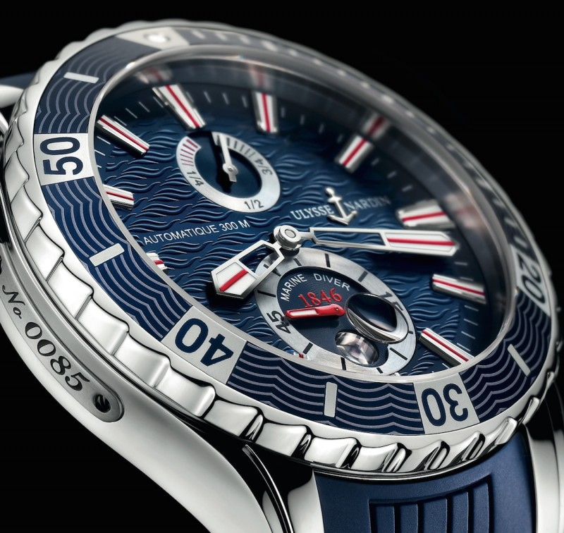 Name:  Ulysse Nardin Marine Diver close up.jpg
