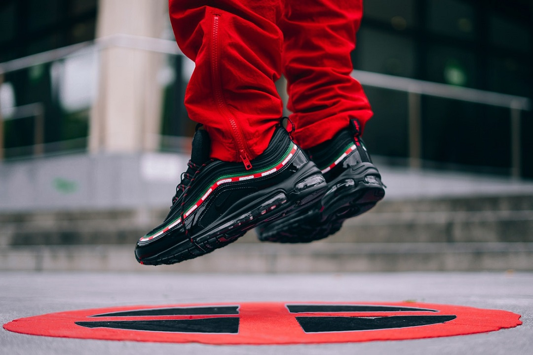 Match The Watch With The Shoe: UNDFTD x Nike Air Max 97 Black