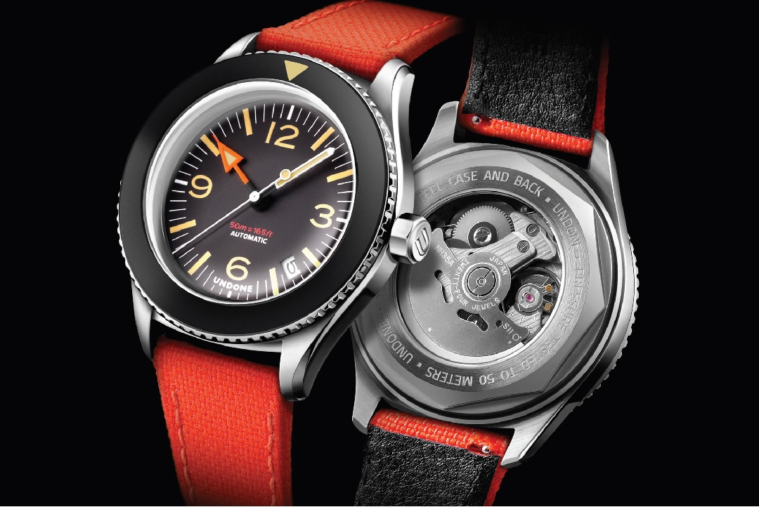 Masters of customization, Hong Kong brand UNDONE, has just released their latest watch. The UNDONE Basecamp is a too-cool-for-school high-performance tool watch incorporating distinct flavors and aesthetics of some of the timeless classics.