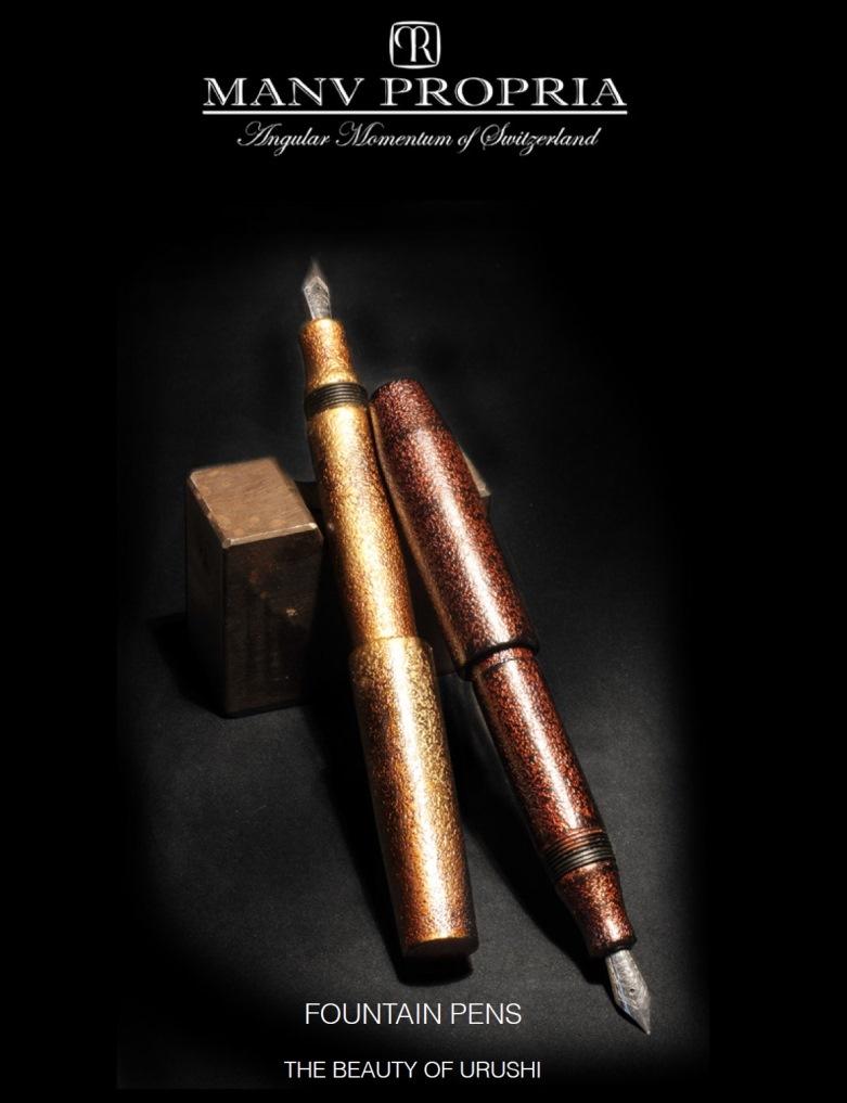 Name:  Urushi Pens by Angular Momentum and Manu Propria.jpg Views: 675 Size:  111.4 KB
