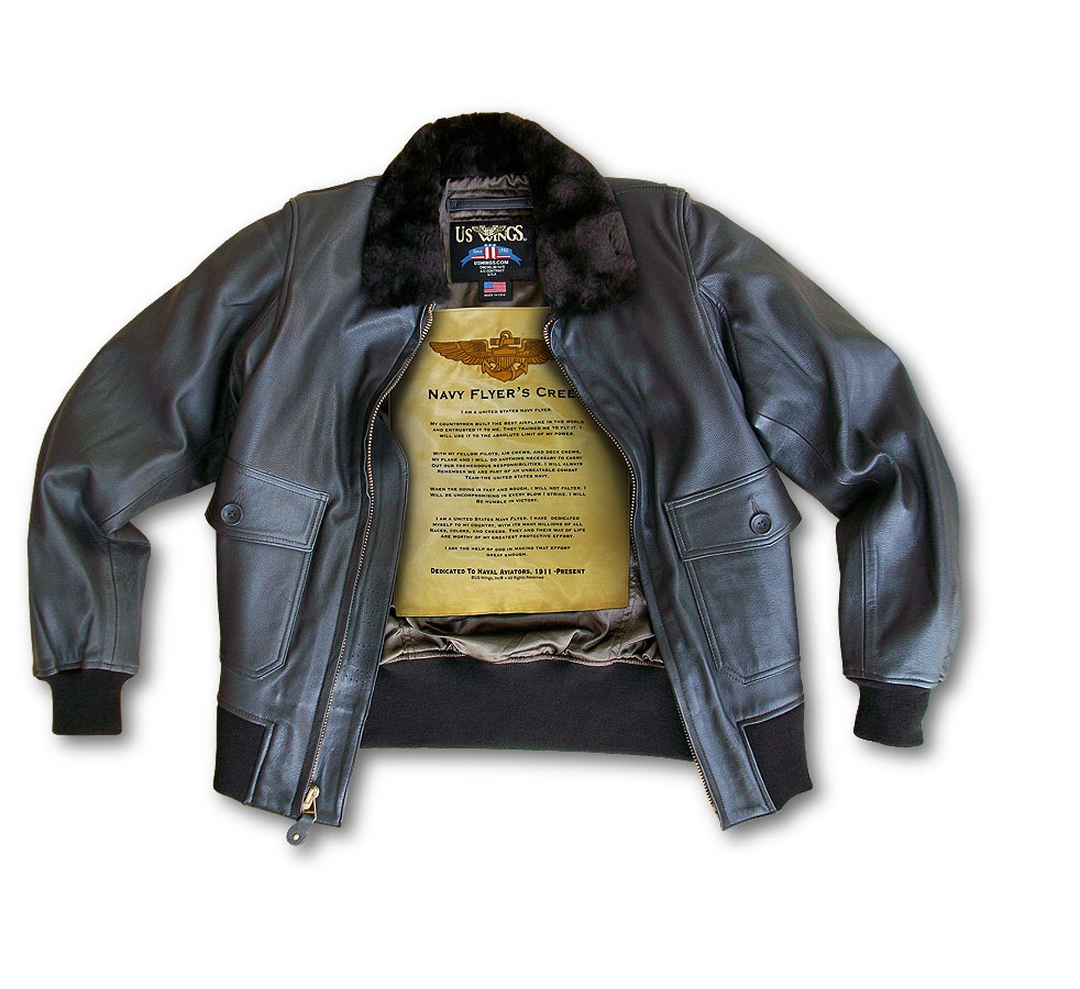 US Wings Navy Flight Jacket