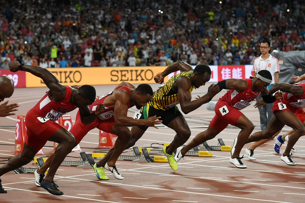 Gold for Hublot Ambassador Usain Bolt