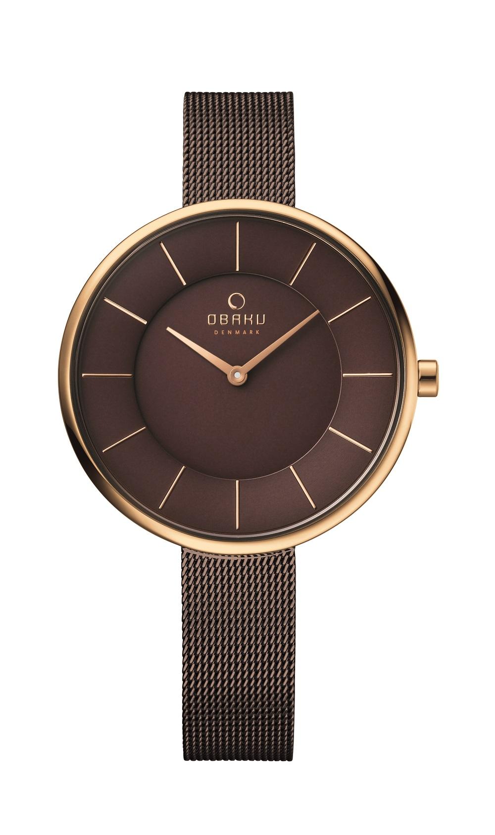 Danish watch brand OBAKU releases new signature watch ...