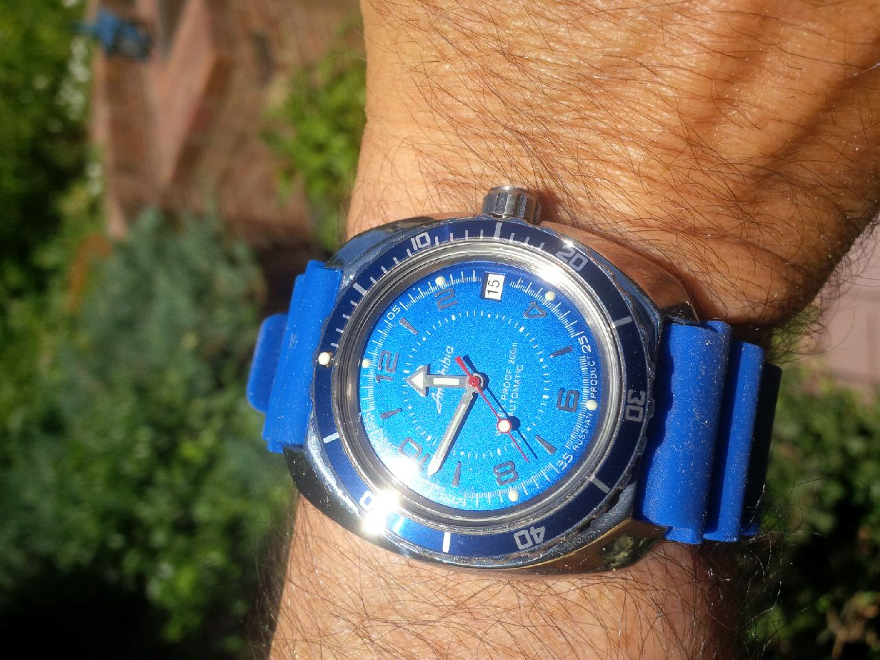 Name:  Vostok Amphibia Blue with blue strap 3.jpg Views: 1161 Size:  229.9 KB
