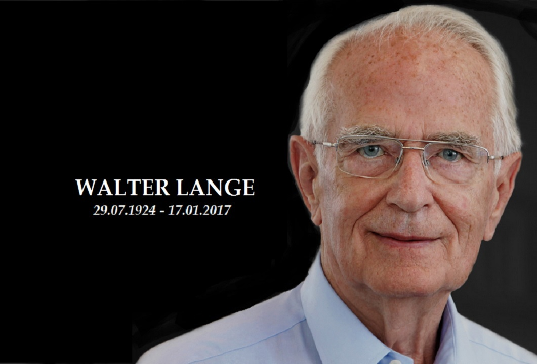 Walter Lange, Honorary Chairman of A. Lange & Söhne, Dies Aged 92