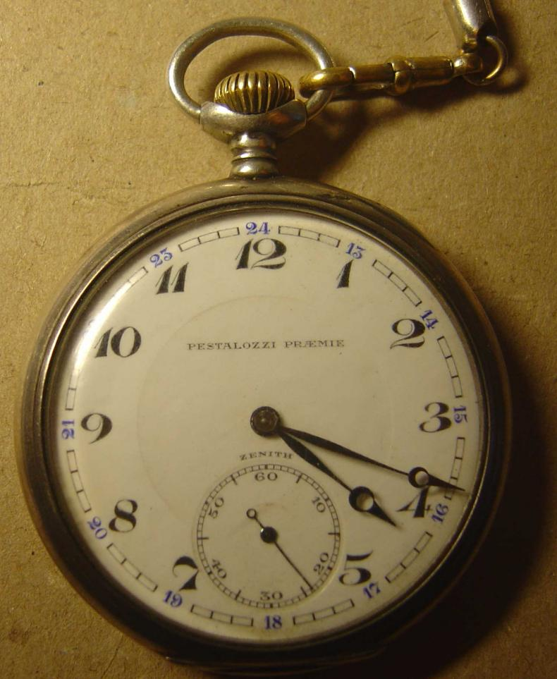 old zenith pocket watch   age