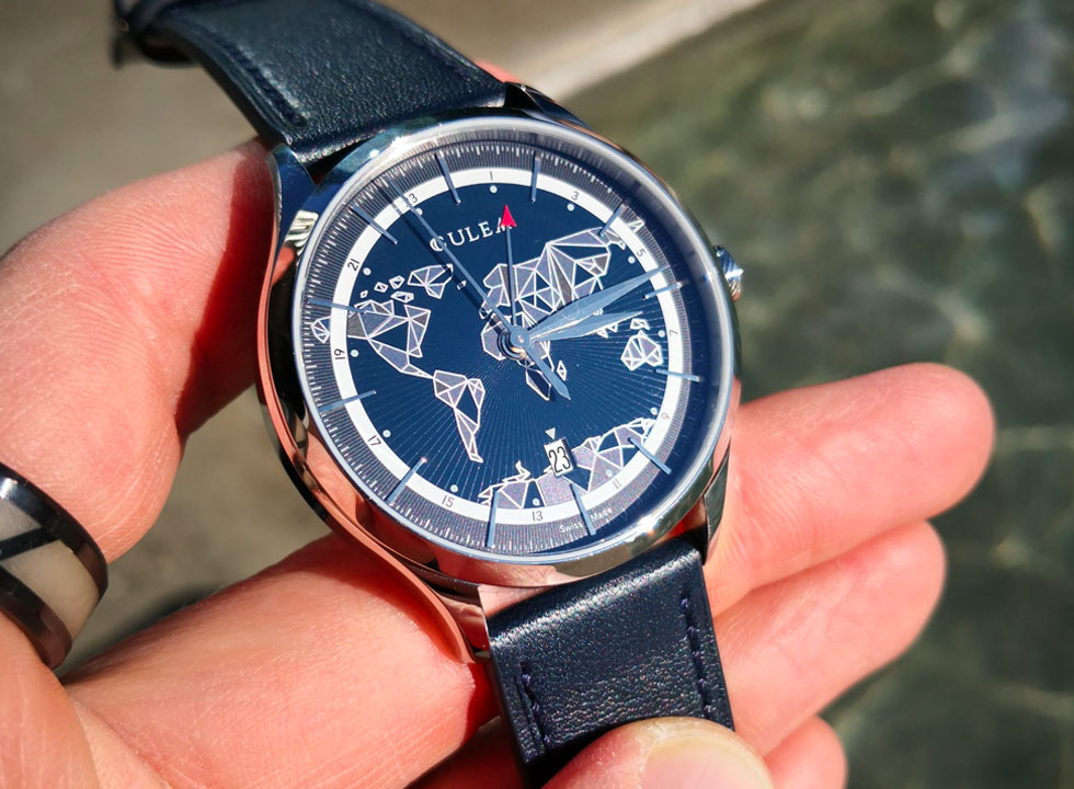culem world gmt watch