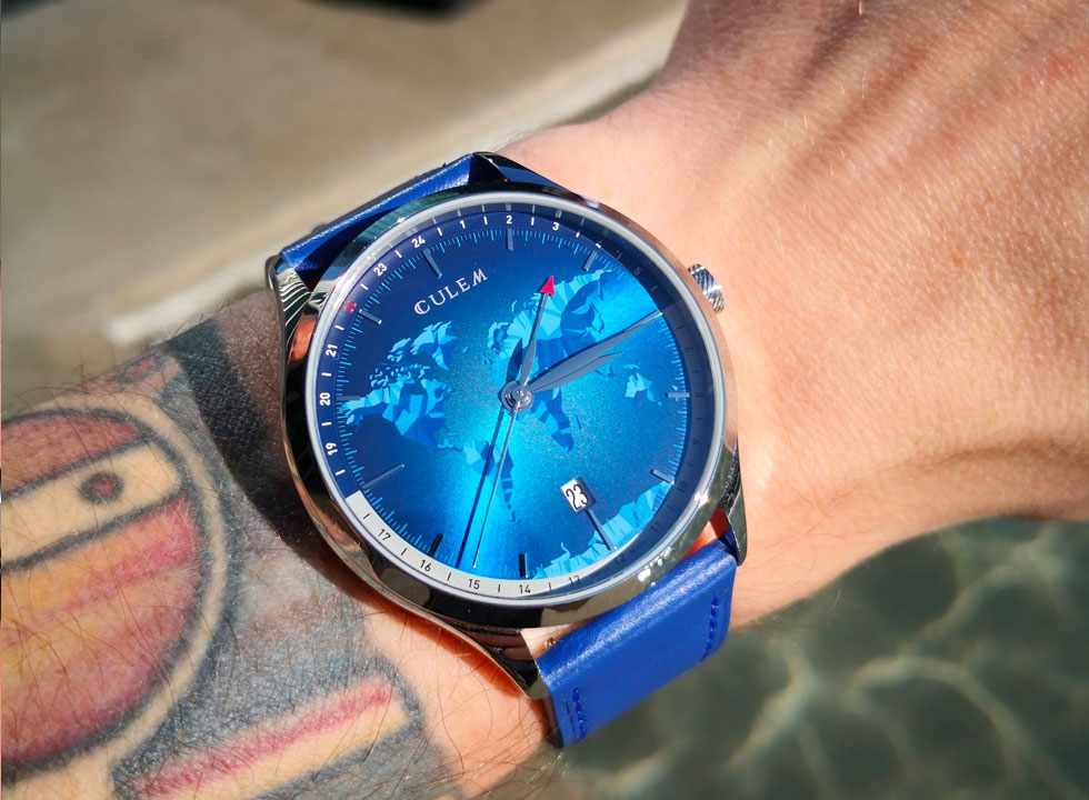 culem world gmt watch