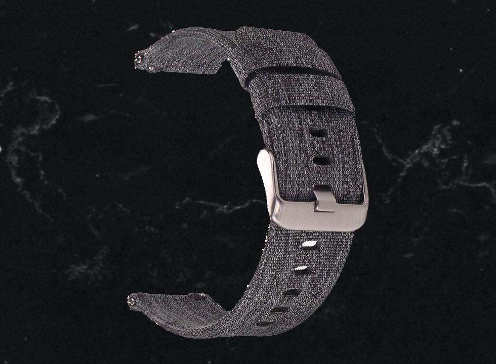 canvas watch strap