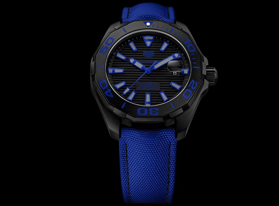 Tag Heuer Aquaracer 300m Black Titanium Watchuseek Com