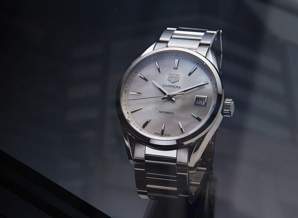 26f26b58e7836 TAG Heuer Revamps Carrera Lady Watches - watchuseek.com