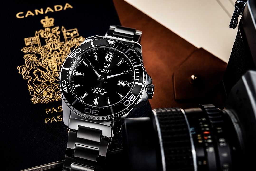 Whitby-watch-co-dive-watch-Intrepid-Canadian-passport