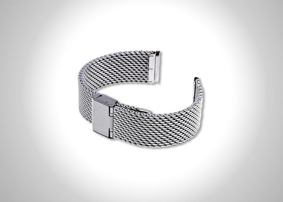 Ritche 20-mm mesh stainless steel bracelet watch