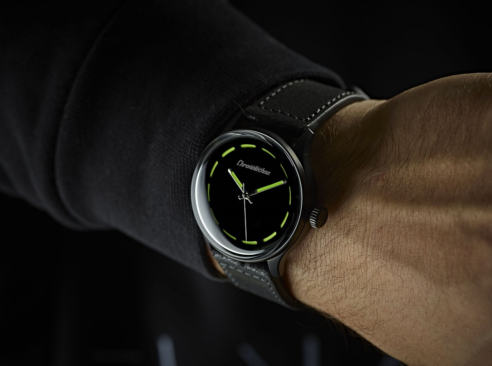 KICKSTARTER: Is this the blackest watch ever made?