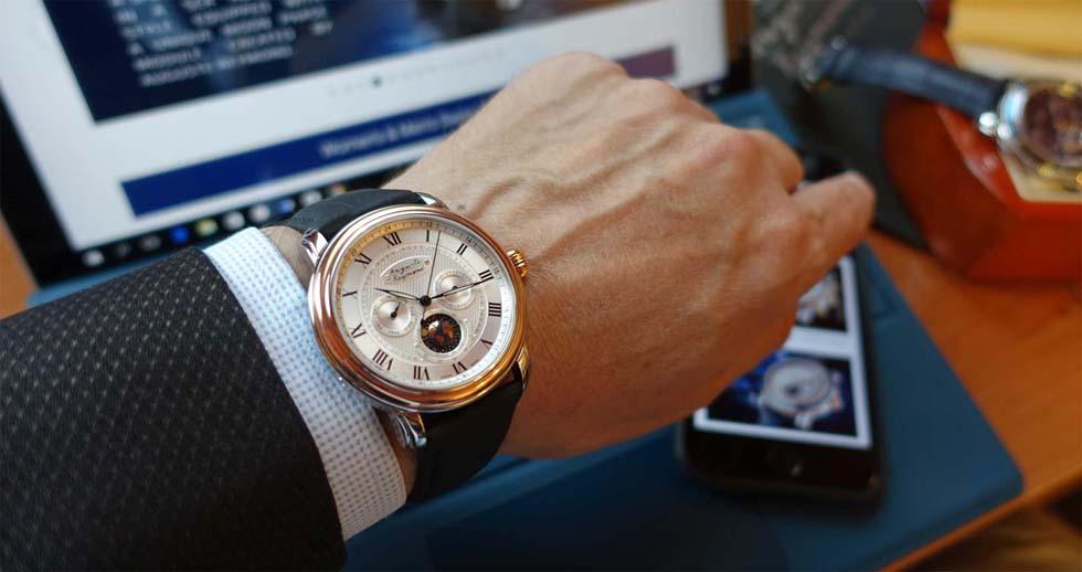 Auguste Reymond is launching a new watch on Kickstarter
