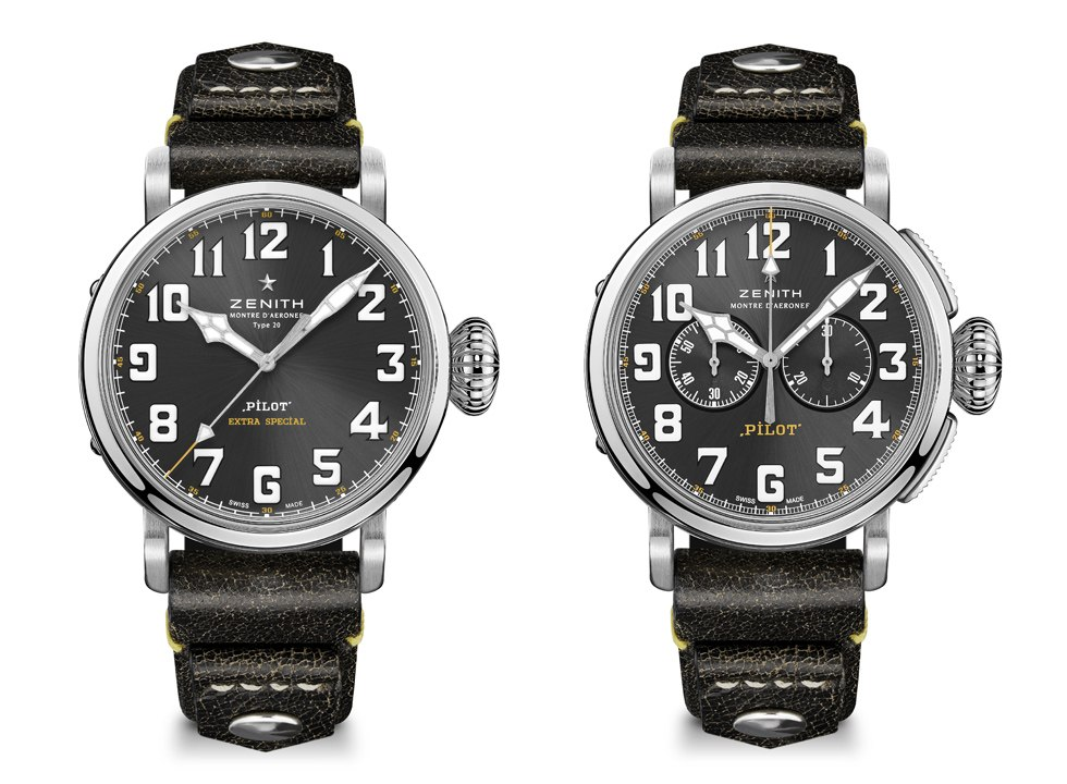 ZENITH_PILOT TYPE 20 RESCUE and CHRONOGRAPH