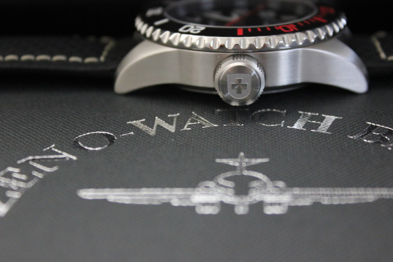 Name:  Zeno Watch Basel Ceramic Diver 6492- 2824-A1-7 on carbon fiber w:white stitching strap from Pana.jpg Views: 21 Size:  88.8 KB