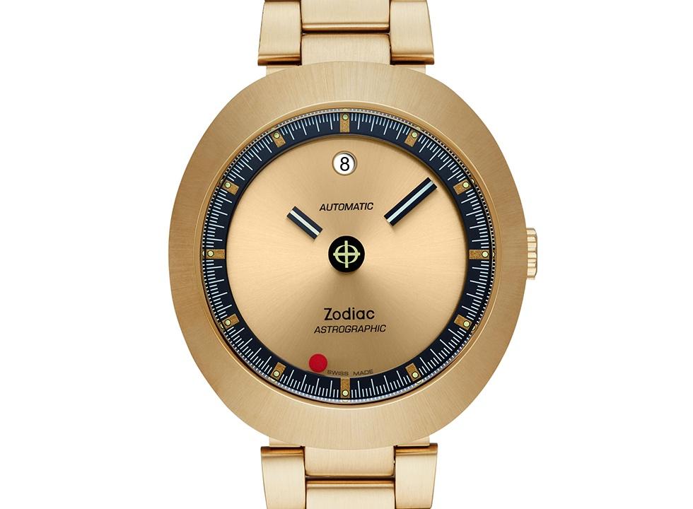 Zodiac Astrographic Gold