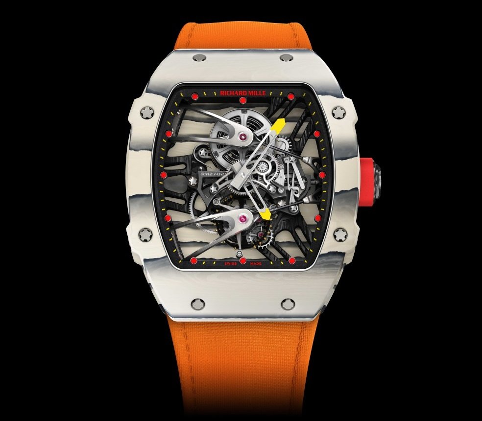 Only Watch 2015 Richard Mille Donates Rafael Nadal Rm 27 02 Tourbillon Prototype Watchuseek Watch Forums