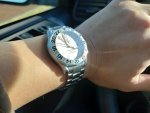 "OMEGA Seamaster GMT Diver 300m ""Great White"" 2538.20 41mm 1128 (White Dial)"